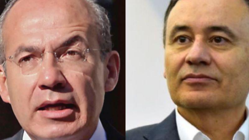 Felipe Calderon 'celebra' poca convocatoria en cierre de campaña de Alfonso Durazo