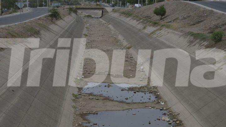 Lamentable: Canal Las Pilas vive los estragos de la sequía en el Valle del Mayo