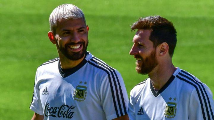 Los números de Lionel Messi y 'Kun' Agüero como dupla que ilusionan al Barcelona