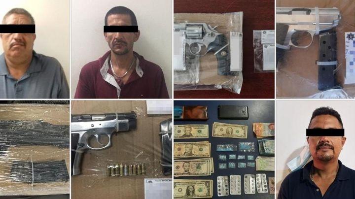 Golpe a la delincuencia en Cajeme: Detienen a 48 personas y aseguran 11 armas de fuego