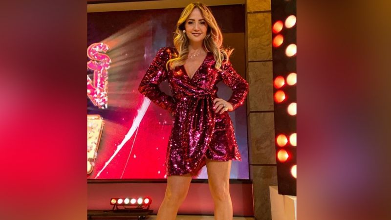 Andrea Legarreta impresiona a todo Televisa al posar coqueta para Instagram