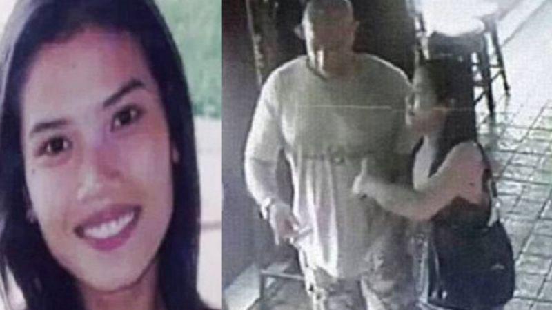 VIDEO: Así captaron a bailarina con su presunto asesino; acabó descuartizada dentro de maleta
