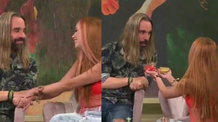 ¡Boda en TV Azteca! Exintegrante de 'Survivor' se compromete; su novia se lo propone en vivo