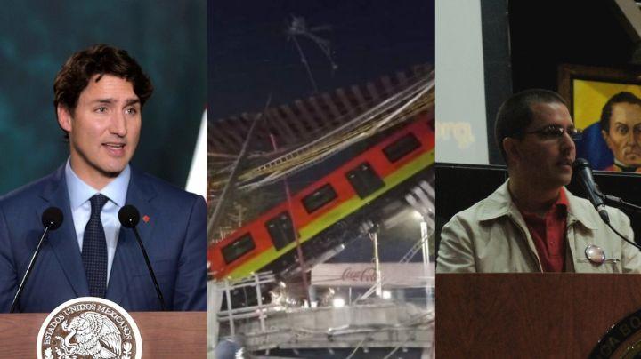 Da la vuelta al mundo: Líderes internacionales reaccionan al derrumbe de la Línea 12 del Metro