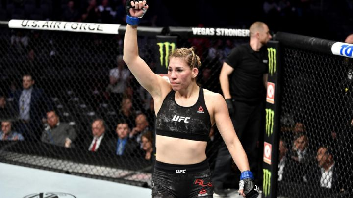 Irene Aldana tendrá una verdadera prueba de fuego el próximo 10 de julio en el UFC 263