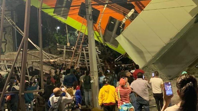 Google se solidariza con México y coloca moño negro tras colapso del Metro