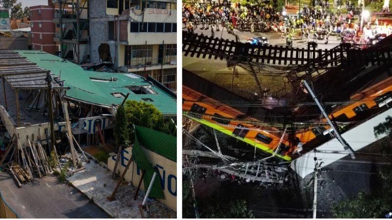 Tragedia en la Línea 12 del Metro, revive el derrumbe del Colegio Rébsamen; murieron 19 niños