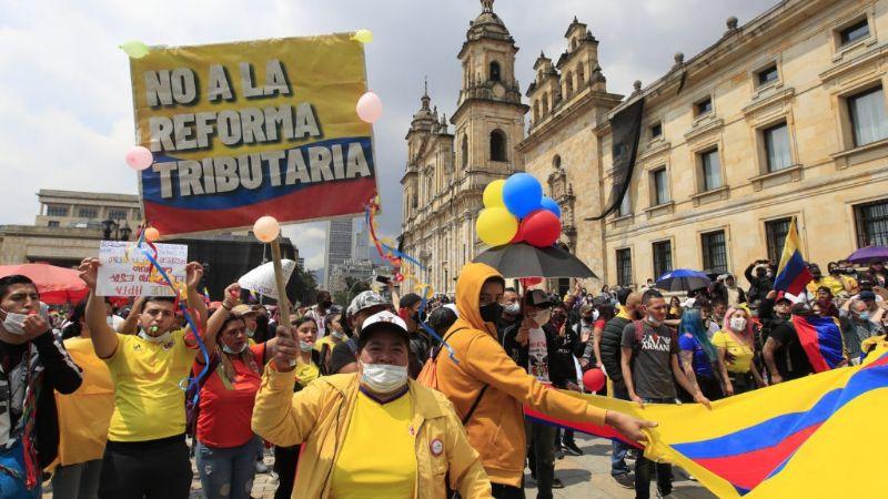 FOTOS: 19 muertos y 89 desaparecidos tras protestas en Colombia; ¿por qué se manifiestan?