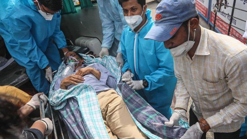 ¡Gran tragedia! India sobrepasa los 20 millones de casos por Covid-19; destrona a Brasil