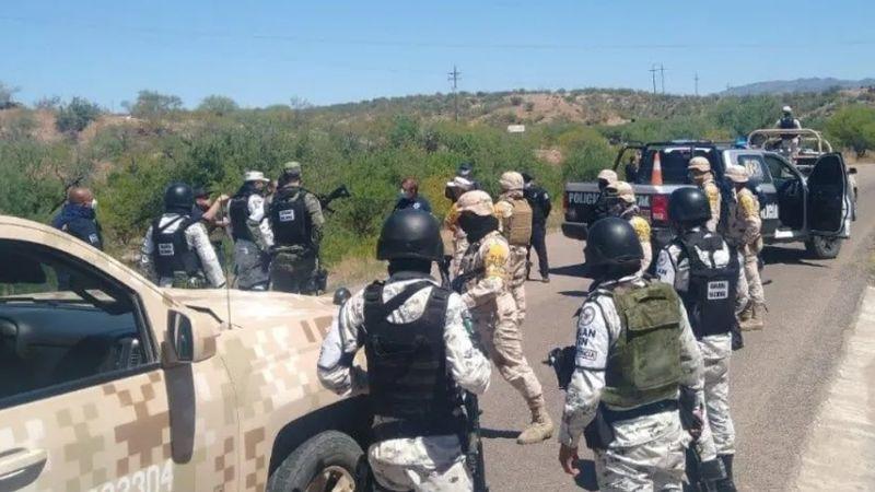 Terror en Sonora: Se enfrentan sicarios y autoridades en Opodepe; hay un policía herido