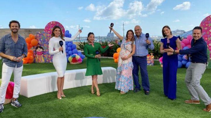 Telemundo, de fiesta: 'Chiqui Baby' revela en vivo en 'Hoy Día' si espera niño o niña