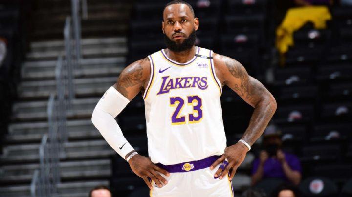 LeBron James no jugará los siguientes dos partidos con Los Ángeles Lakers