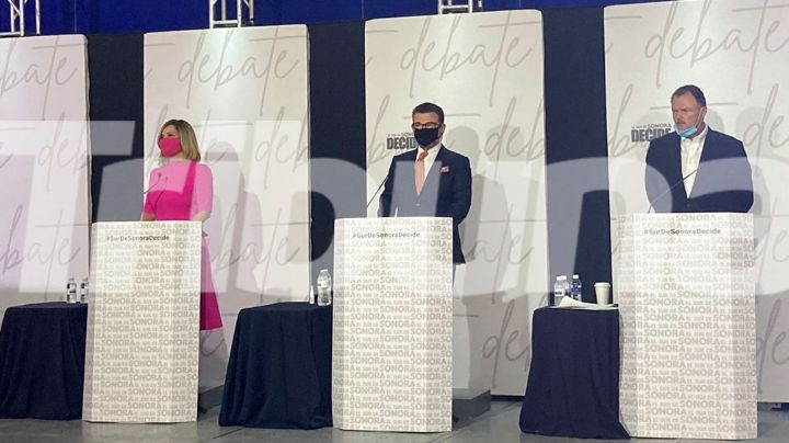 'El Sur de Sonora Decide': Este es el minuto a minuto de los candidatos a la gubernatura