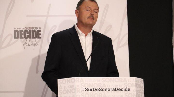 """""""No dieron la cara"""": Ernesto Gándara arremete contra candidatos ausentes en el debate"""