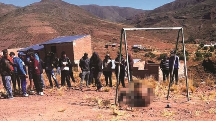 De terror: Atrapan a ladrón de vehículos; lo bañan en gasolina y lo queman vivo