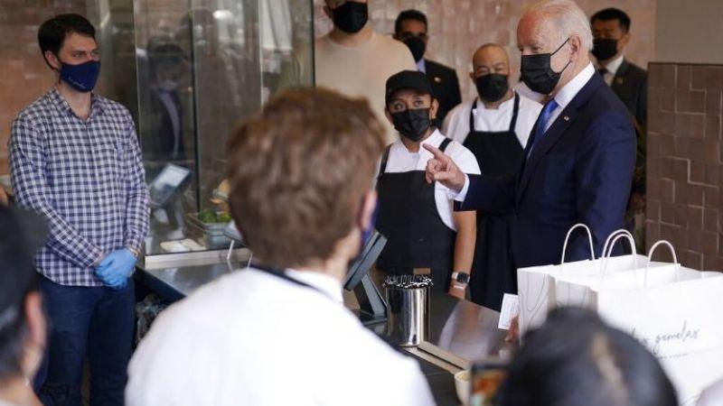 FOTOS: Al puro estilo mexicano, Joe Biden celebra el 5 de mayo en restaurante de tacos