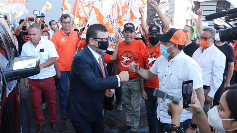 Elecciones 2021: Ricardo Bours promete priorizar la seguridad y un Gobierno transparente