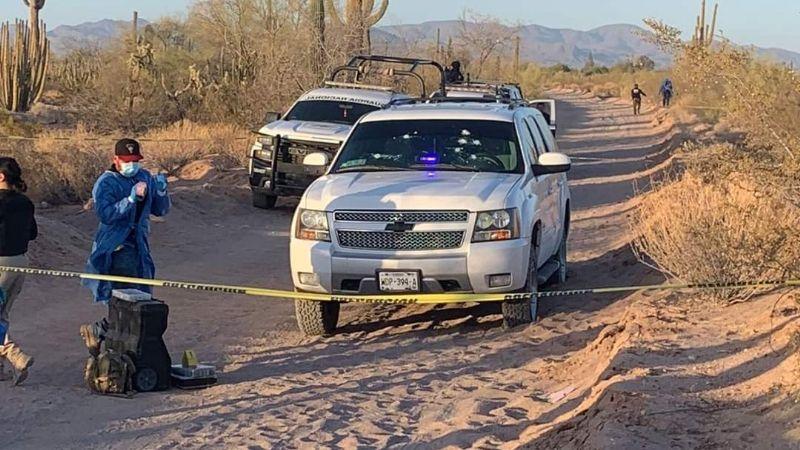 Sonora: GN confunde a funcionario y lo asesina a tiros en Caborca; dejan grave a agente del MP