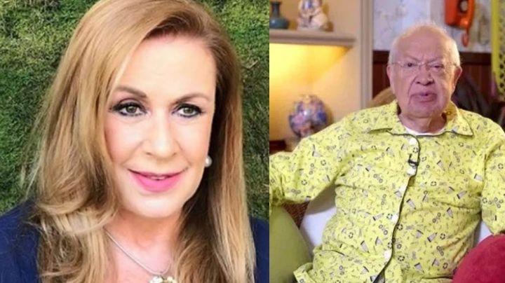 Laura Zapata da detalles sobre la salud de Eduardo Manzano ¡y deja en shock a Televisa!