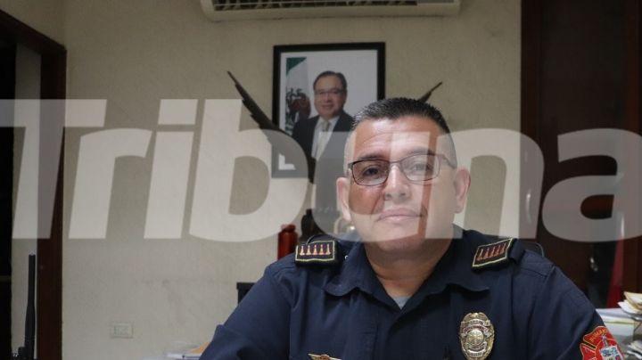 El comandante de Bomberos en Cajeme realiza rifa para tener fondos para torneo de beisbol en La Paz