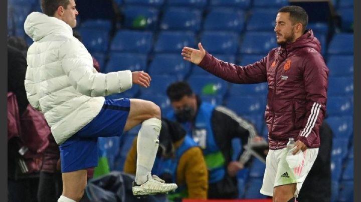 Eden Hazard se disculpa con la afición del Real Madrid por su actitud