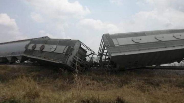 (FOTOS) Se reporta nuevo accidente ferroviario: Tren 'La Bestia' se descarrila en Veracruz