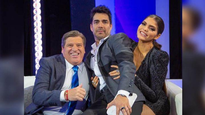 ¡Sin control! 'Piojo' Herrera le coquetea a Ana Bárbara y se le va con todo en 'Tu-Night'