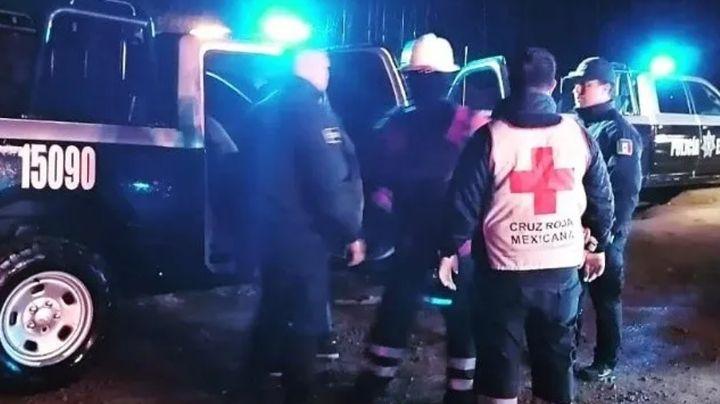 Aparatoso encontronazo entre dos autos al norte de Guaymas, deja a una persona lesionada