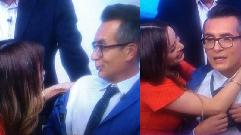 ¡No es Carlos Rivera! Cynthia Rodríguez revela que este conductor de TV Azteca es el amor de su vida