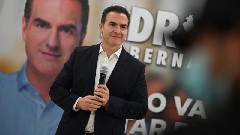 Adrián de la Garza acusa a AMLO por tratar de influir en elecciones de Nuevo León
