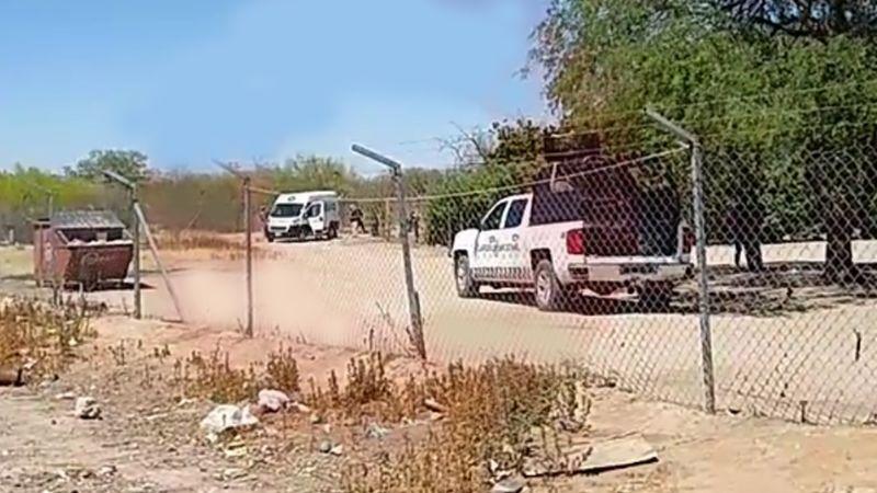 A plena luz del día, sicarios armados ejecutan a hombre a las afueras de Guaymas