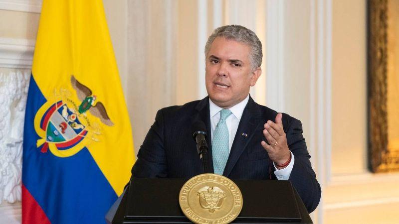 Iván Duque llama a un diálogo con todos los sectores por las manifestaciones en Colombia