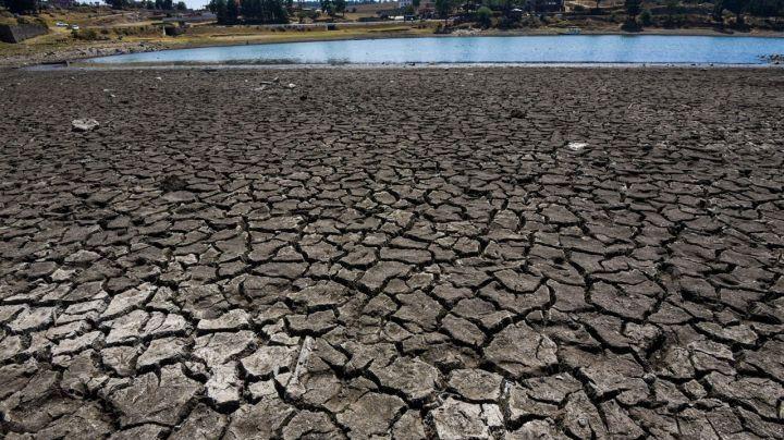 NASA alerta a México por los bajos niveles de agua en presas y la grave sequía que se vive