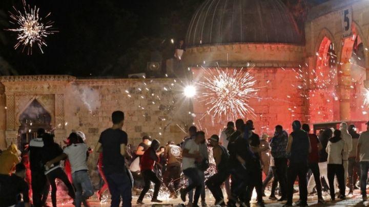 VIDEO: Enfrentamiento entre palestinos y policías de Jerusalén deja 169 heridos