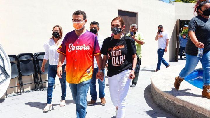 """""""Combatiré la inseguridad"""": Ricardo Bours promete devolverle la paz a Guaymas y Empalme"""
