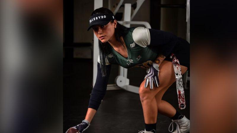 Valery Carranza, de 'Exatlón', pone a babear a todo TV Azteca en 'outfit' deportivo negro