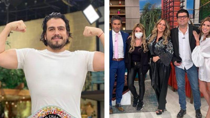 """Productora de 'Hoy', furiosa por ver al líder de 'Sale el Sol' en junta con Televisa: """"Se puso amargosa"""""""