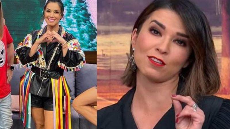 """Laura G lleva polémico 'look' a 'VLA' y todo TV Azteca se le va encima: """"Parece volador de Papantla"""""""