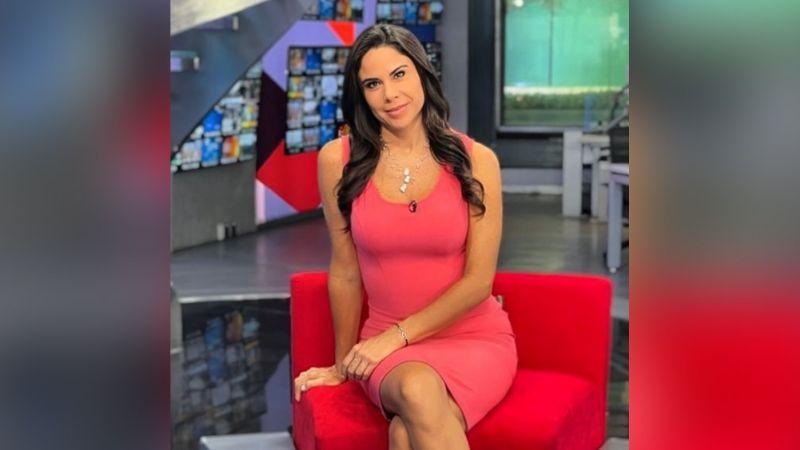 """Paola Rojas se despide de Televisa con radiante atuendo rojo y paraliza Instagram: """"Divina"""""""