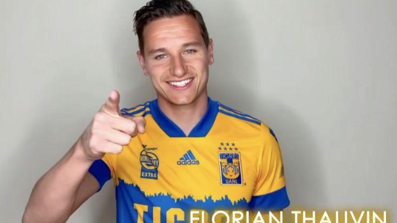 """Florian Thauvin: """"Siempre con mi corazón y mis ganas por Tigres y la afición"""""""