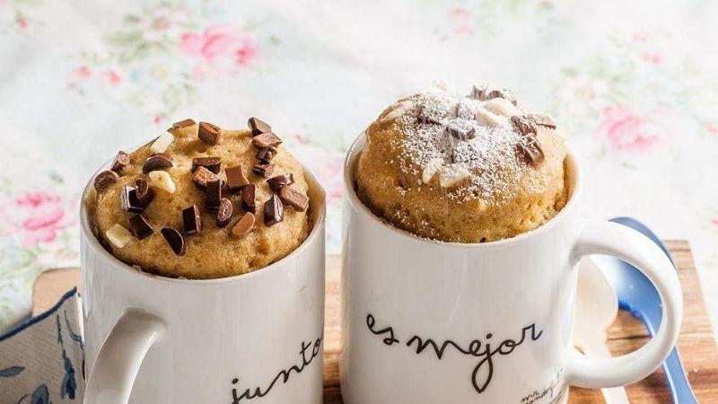 Rápido y delicioso: Festeja el Día de las Madres con un esponjoso cupcake de microondas