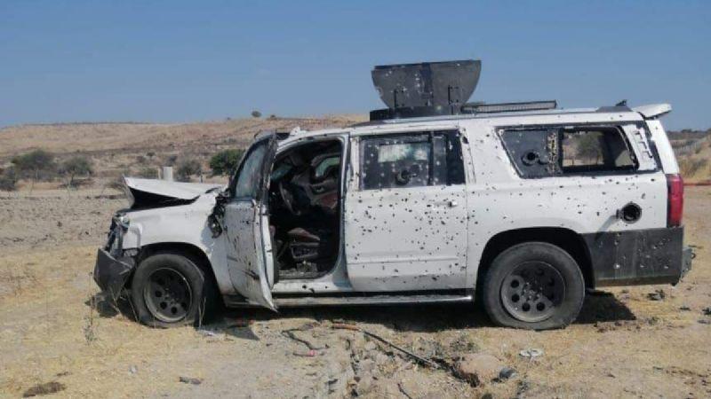 Jalisco: Enfrentamiento armado deja un muerto, 9 vehículos baleados y una finca incendiada