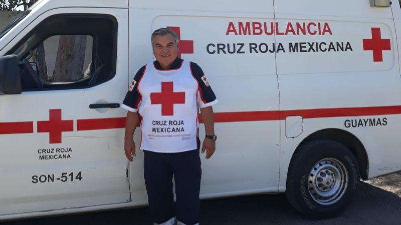 Marco Antonio, un voluntario de vocación en el Puerto de Guaymas