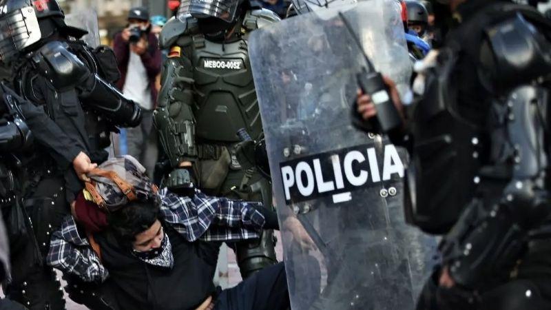 Tras la violencia policiaca en Colombia, FIDH pide suspender la exportación de armas al país