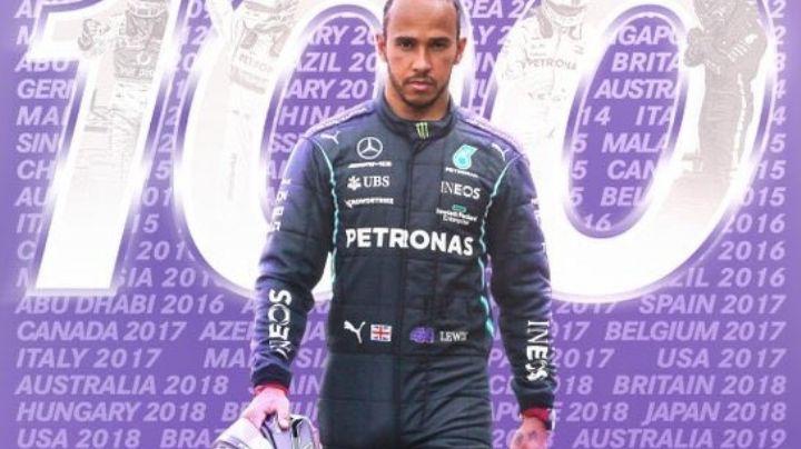 Lewis Hamilton al '100'; logra el piloto inglés el centenar de 'poles position' en la F1