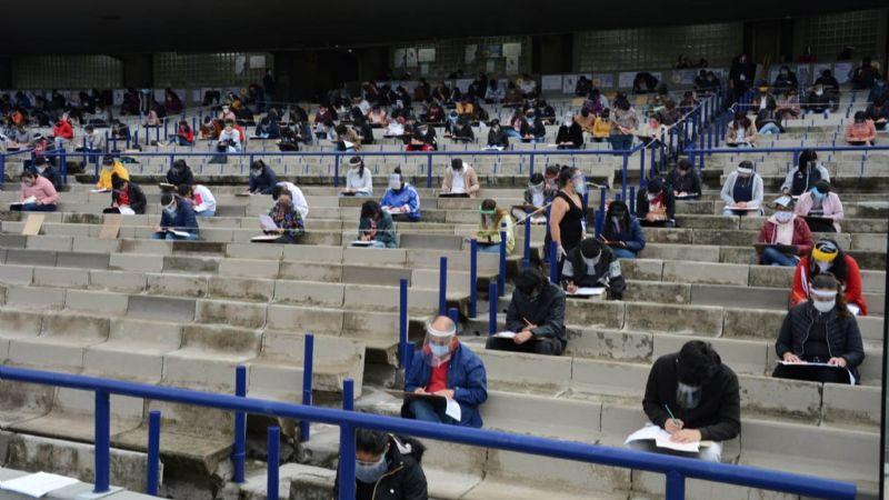 UNAM comienza la aplicación de exámenes para ingresar a licenciatura con medidas preventivas