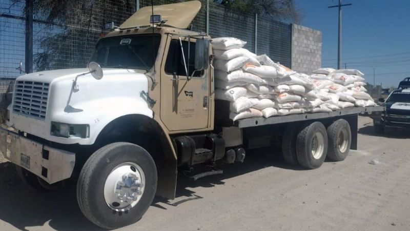 Hermosillo: Intentan robar producto de ferrocarril y son descubiertos; hay cinco detenidos