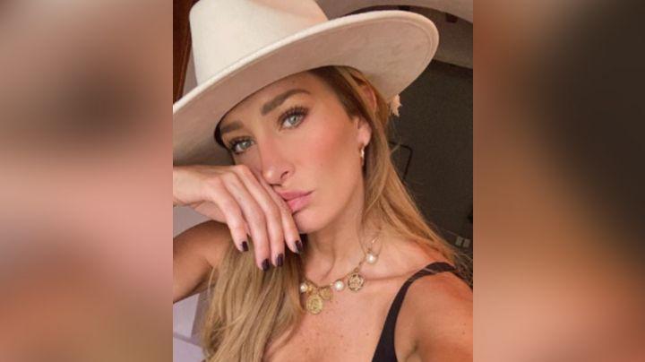 ¡Le duele hasta el cabello! Geraldine Bazán se vacuna contra Covid-19 en EU y lo revela en Instagram