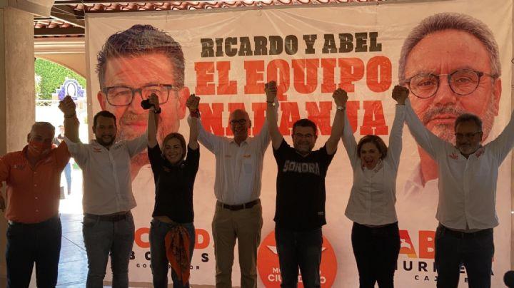 Dante Delgado se presenta ante jóvenes en Ciudad Obregón, en apoyo a Ricardo Bours y Abel Murrieta