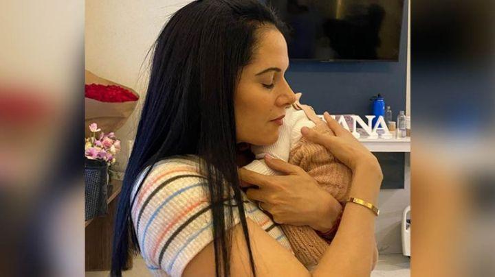 Exesposa de Alejandro Fernández disfruta el ser abuela de la primera nieta del 'Potrillo'